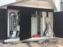 Entrada de Energia - Residencial Moher - Construtora Vieira e Pontes