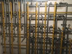 Medidores de gás - Construtora Nobel - Residencial Solar Duquesa Maria Amalia